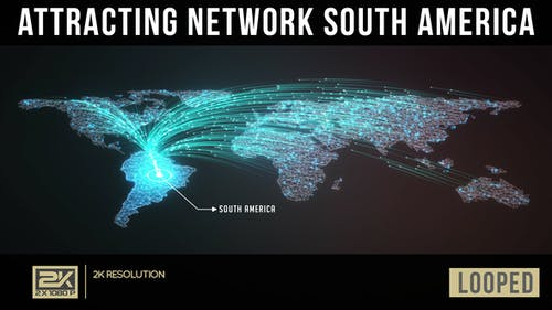 Attracting Network South America