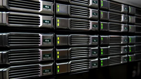 Storage and Database in the Server Room