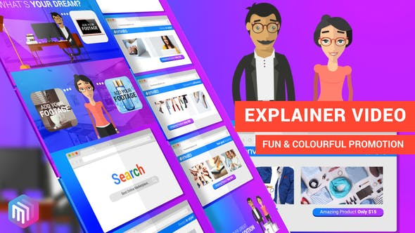 Thumbnail for Explainer Video | Dream Shopping Online