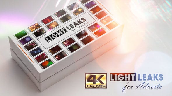 Light Leaks for Adverts!