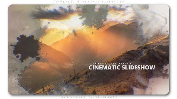 Presentación de diapositivas Cinemática de tintas