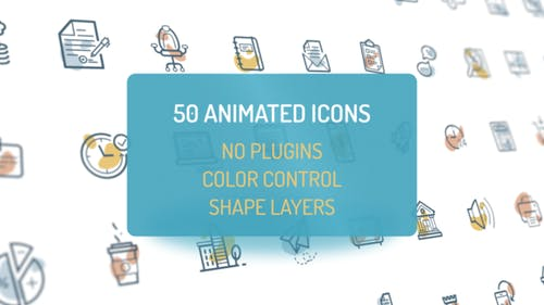 Animated Flat Icons
