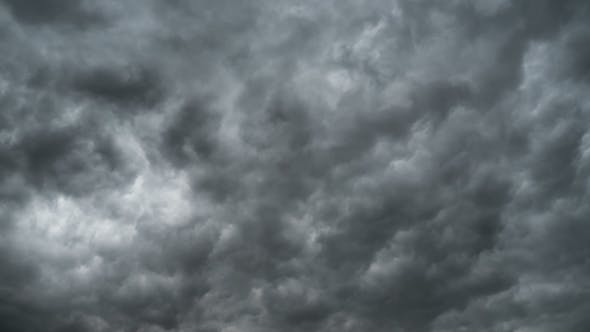 Thumbnail for Gray Storm Clouds Moving in the Sky