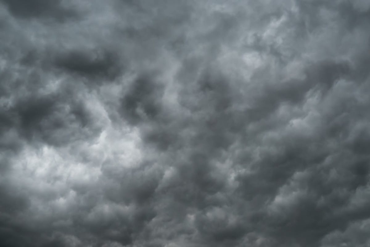 Gray Storm Clouds Moving in the Sky by RoStRecords on Envato Elements