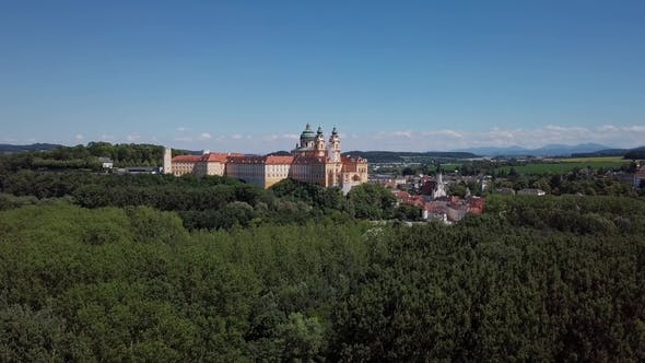 Thumbnail for Aerial View of Melk Abbey, Austria
