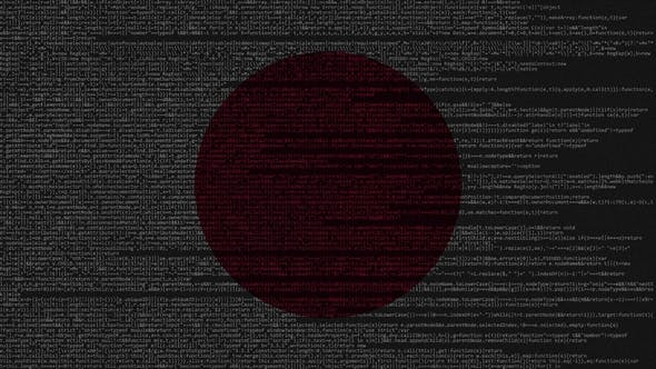 Thumbnail for Source Code and Flag of Japan