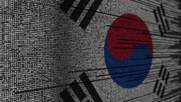 Thumbnail for Program Code and Flag of South Korea