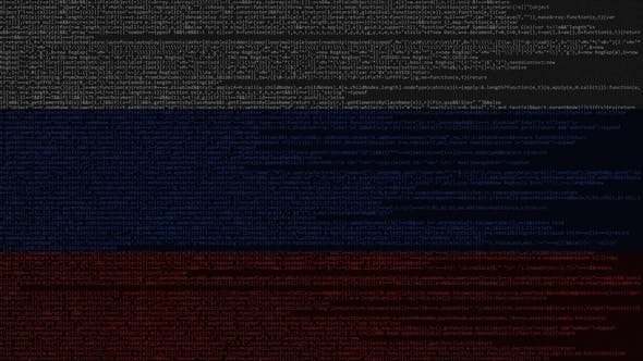 Thumbnail for Source Code and Flag of Russia