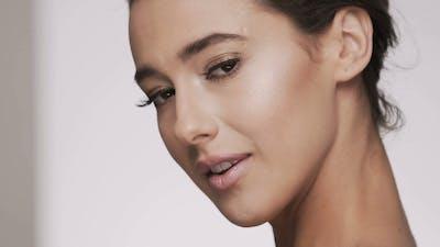 Portrait of Make Up Model