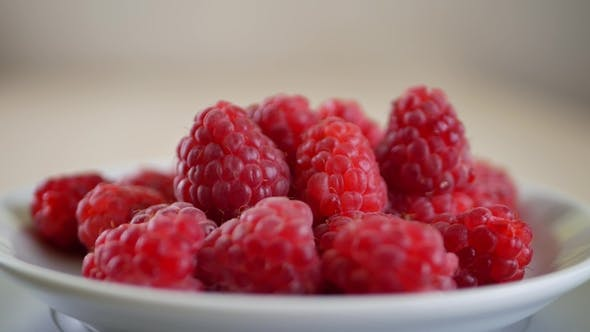 Thumbnail for Fresh and Sweet Raspberries
