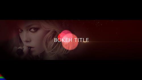Bokeh Titles