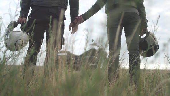 Thumbnail for In Love Paar Bikers