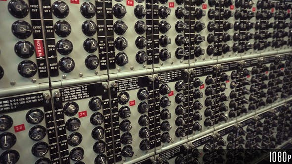 Thumbnail for Vintage Analog Switches Control Panel
