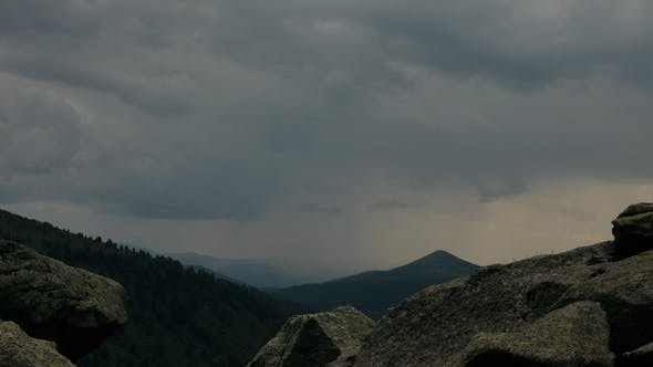 Thumbnail for of Rain in the Mountain Valley