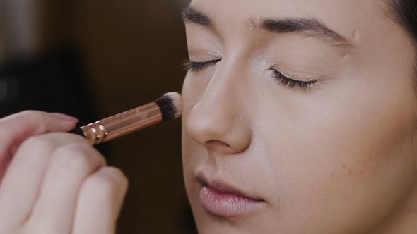 Thumbnail for Beautiful Girl Doing Make Up