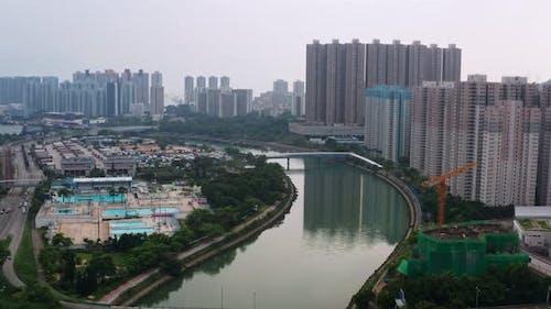 Hong Kong residential district