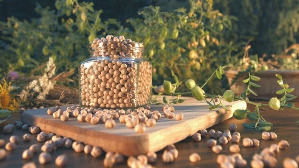 Still Life with Chickpeas