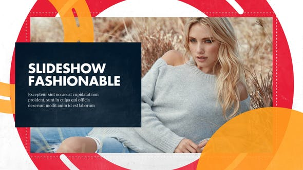 Thumbnail for Slideshow - Fashionable Promo // Premiere Pro