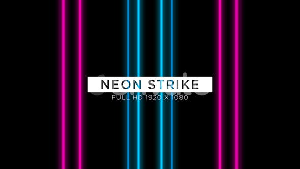 Thumbnail for Neon Strike VJ Loops Fond