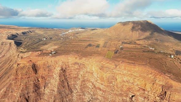 Thumbnail for Aerial of Mirador Del Rio Viewpoint, Lanzarote