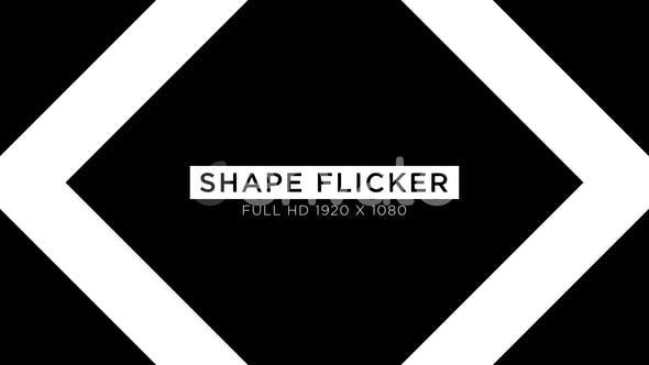 Thumbnail for Shape Flicker VJ Loops Background