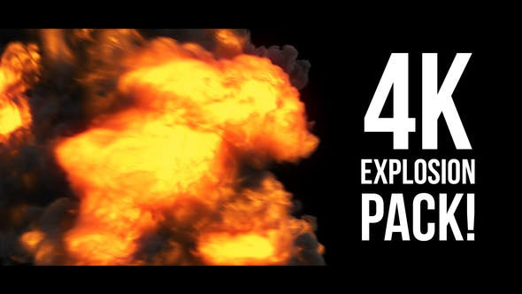 Cover Image for 4K Explosions Pack