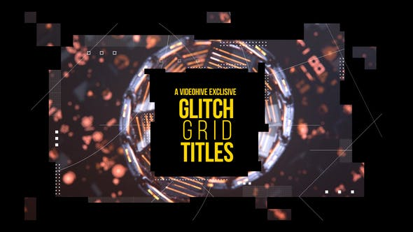Thumbnail for Glitch Grid Titles