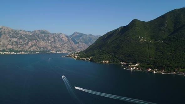 Perast Town To Boko-kotor Bay. Montenegro