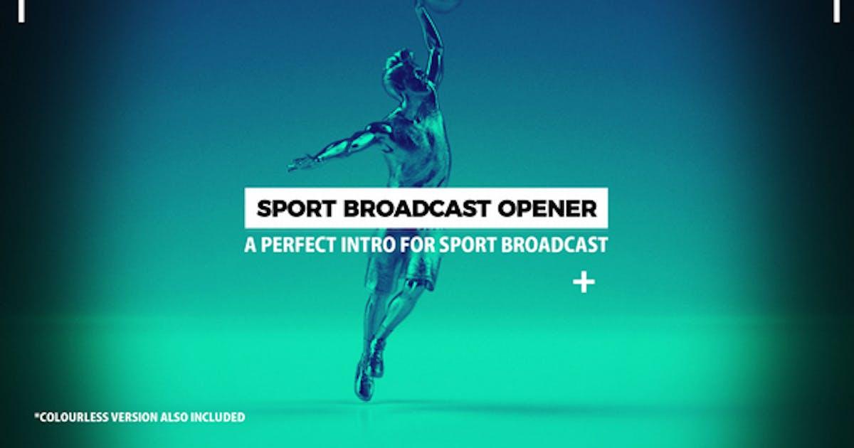 Download Sport Broadcast Opener by Videostones