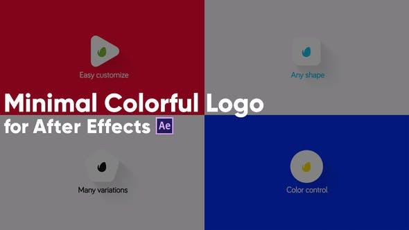 Thumbnail for Logo Minimalista colorido.