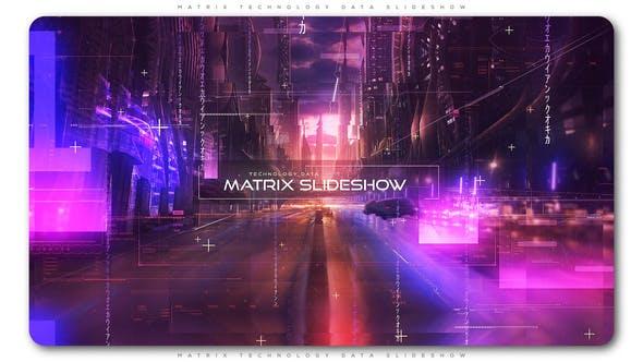 Thumbnail for Matrix Technology Data Slideshow