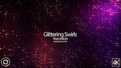 Glittering Swirls