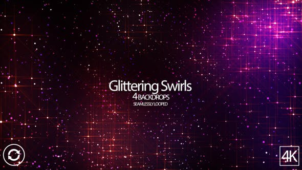 Thumbnail for Glittering Swirls