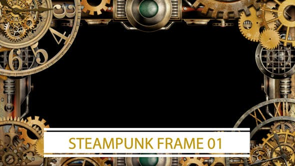 Thumbnail for Steampunk Frame 01