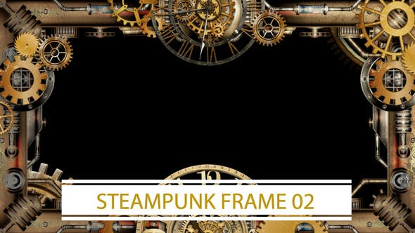 Thumbnail for Steampunk Frame 02