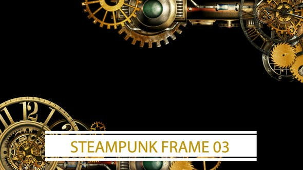 Thumbnail for Steampunk Frame 03