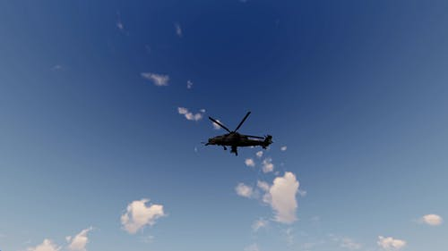 Military Helicopter Apache