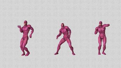Gay Superhero Dancing
