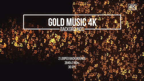 Gold Music Backgrounds