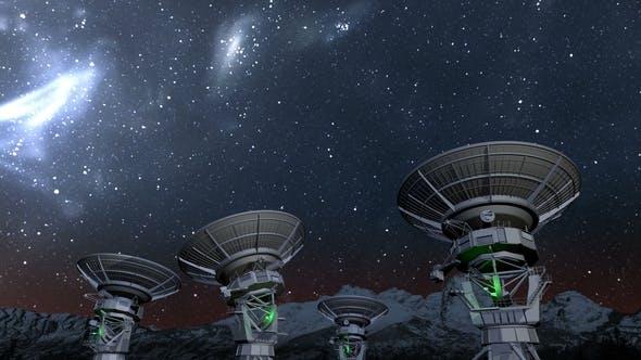 Cover Image for Radio Telescope Array Night