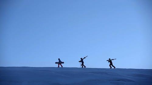 Snowy Summit Mountain