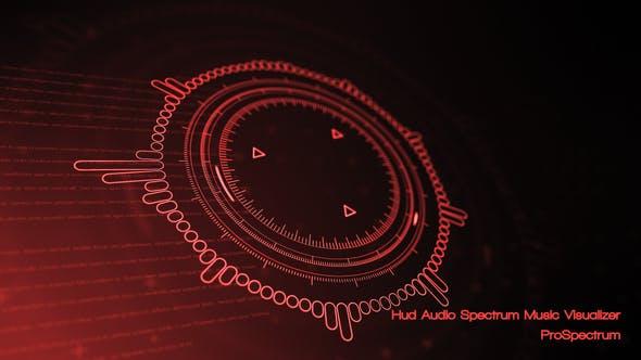 Hud Audio Spectrum Music Visualizer