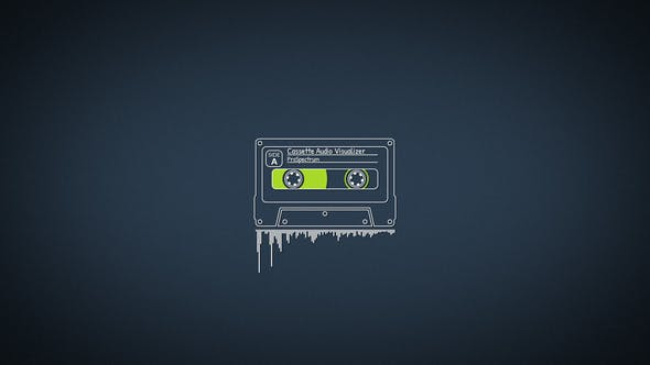 Cassette Audio Visualizer