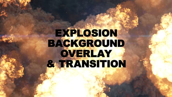 Thumbnail for Explosion Background & Overlay