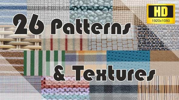 Thumbnail for Patterns & Textures - 26 Loops