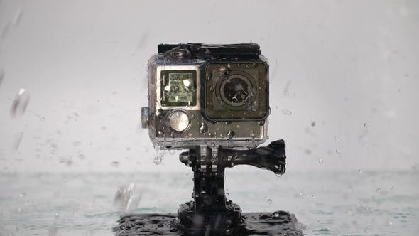 Thumbnail for Action Camera Under Rain