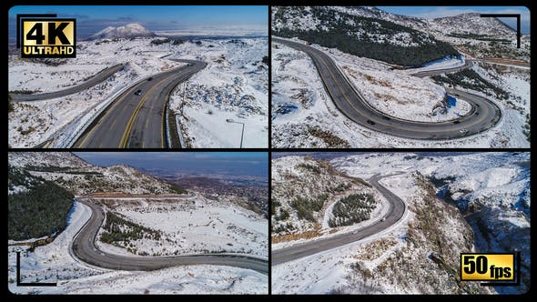 Cover Image for Snowy Mountains Road