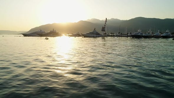 Thumbnail for Montenegro in Tivat at Sunset