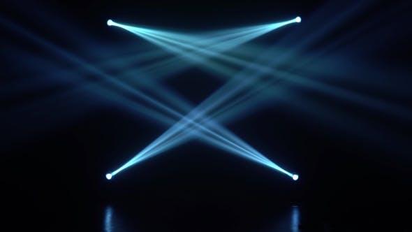 Thumbnail for Blue Light From the Spotlights