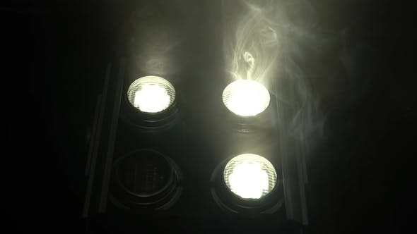 Thumbnail for Projectors with Light Are Switched on and Off